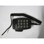Codan 9323/9360/9780/9390 Microphone keypad housing and cord.
