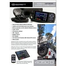 New Barrett 4050 SDR HF Transceiver / 2019 Antenna Package